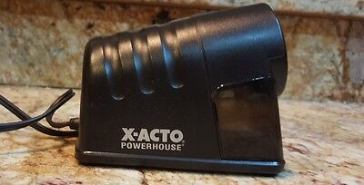 X-Acto Powerhouse Desktop Electric Pencil Sharpener Black 1799