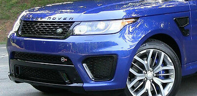 Range Rover Sport L494 2014+ SVR Front Bumper Assembly & Fenders Complete NEW