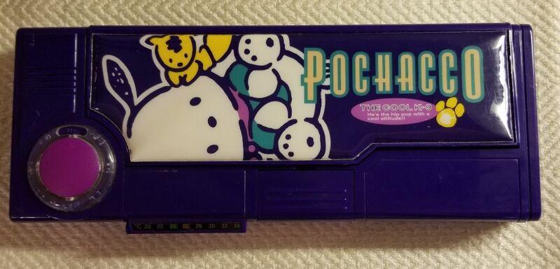Rare Sanrio POCHACCO Multi Function Pencil Case with Pop Out Compartments
