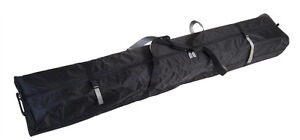 DOUBLE-SKI-BAG-W-WHEELS-FULLY-PADDED-170cm-BLACK