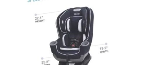 Graco Baby Extend2Fit Convertible Car Seat Infant Child Safe