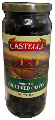 Oil Cured Olives, Imported (Castella) 8 oz