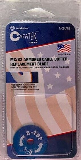 Southwire MCBLADE BX/MC Cutter Replacement Blade USA