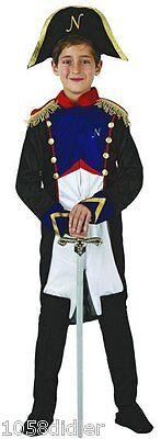 Costume Boy General NAPOLEON 7/8/9 years Child Empire NEW Cheap - Cheap Costumes Kids
