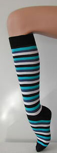 Over Knee Socks Quality Cotton Australian Made 14 colours Roller Derby