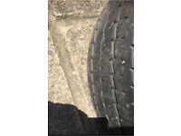 Vw transporter t4 spare wheel and tyre