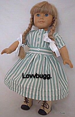 Summer Dress for 18 inch American Girl Kirsten Doll Clothes