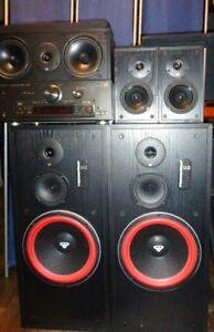 CERWIN VEGA Surround Speakers LS-5 LS-6C LS12.