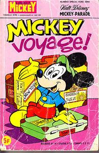 C1 Disney MICKEY PARADE 1407 bis 1979 MICKEY VOYAGE - France - État : Etat correct : Livre présentant des marques d'usure apparentes. La couverture peut tre légrement endommagée, mais son intégrité est intacte. La reliure peut tre légrement endommagée, mais son intégrité est intacte. Existence poss - France