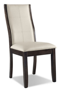 4 Leather Chairs and Dining Table (set has 4 years warranty)