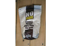 No Nonsense jasmine tile grout, 2KG bag