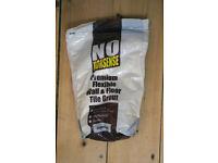 No Nonsense jasmine tile grout, 2KG bag