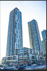 Luxury 1 Bed + 1 Den Condo for Rent in Missisauga Square One