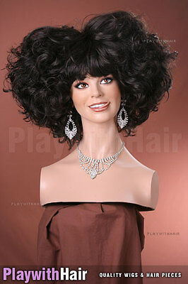 OUTRAGEOUS!! Huge Beehived Costume Wig - COLOUR - Outrageous Wigs