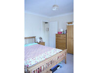 One large furnished double room in a flat