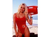 Iconic TV's Baywatch photoshoot