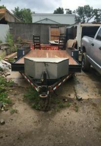 6 Ton Float .. 16 x 6.5 feet trailer
