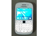 Blackberry 9320 Unlocked and Beats Pill Boxed in blue SWAP
