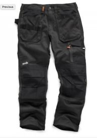 Scruffs 3D Trade Trousers | Hardwearing Mens Work Trouser | RRP £59.95