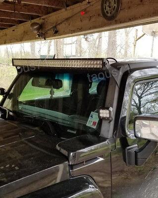 Hummer h3 light barebay 1 fit hummer h3 upper roof curved 50 led light bar off road mounting brackets mozeypictures Images