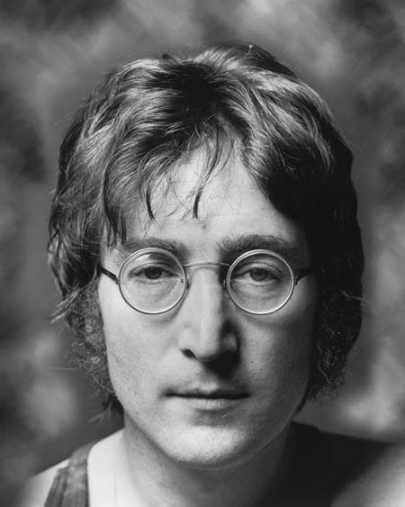 1970s Beatles English Musician JOHN LENNON Glossy 8X10 Photo Print Portrait