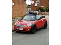 Mini Cooper 1.6 Convertible, New Mot, Full Service History, Low Miles, 1 Owner, Cheap 4 Insurance