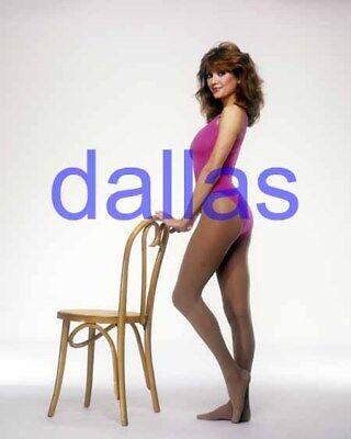 Dallas  7778 Victoria Principal Pam Ewing 8X10 Photo Closeup