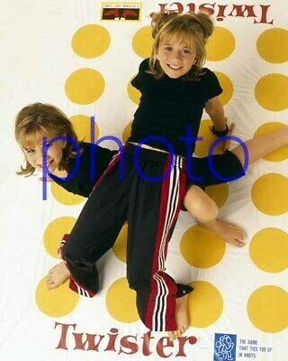 MARY KATE & ASHLEY OLSEN #27,8x10 PHOTO,closeup,FULL HOUSE,two of a