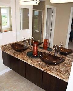 Novatto Oval Glass Vessel Sink