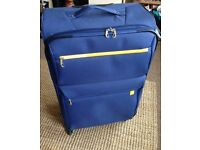 almost New suitcase on wheels , nice size & Lightweight