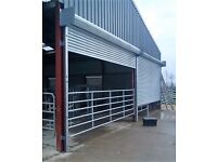 ROLLER SHUTTER DOOR - 10FT X 10FT AND 12FT X 12FT AVAILABLE