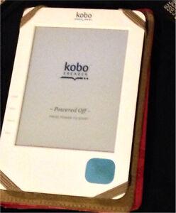Kobo e-reader and designer case