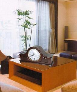 Classical Mantel Hardwood Clock, Best German Dual-chime-T00038