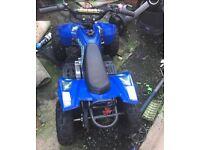 50cc children's quad bike for kids child's nearly new motor 49cc engine off road dirt petrol boys
