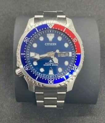 Mint!! Citizen Promaster Dive Automatic Watch Model NY0086-83L