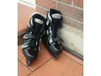 Ice skate boots (size 2)