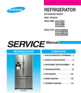Samsung-French-Door-Refrigerator-Service-Repair-Manual - photo#16