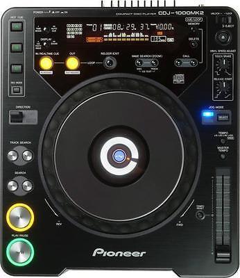 Pioneer CDJ-1000 MK2 and MK3