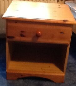 2 x Pine Bedside Tables