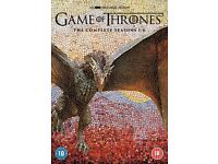 GAME OF THRONES 1- 6 COMPLETE *BRAND NEW SEALED* **GENUINE SELLER**