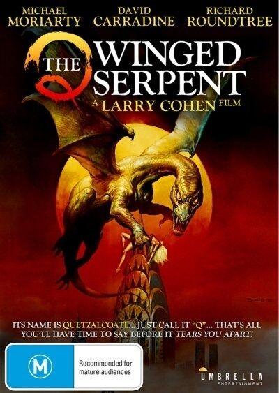 Q The Winged Serpent (NTSC FORMAT DVD. REGION 0)