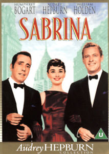 SABRINA AUDREY HEPBURN HUMPHREY BOGART WILLIAM HOLDEN PARAMOUNT DVD NEW & SEALED