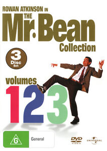 The Mr Bean Collection - Volumes 1, 2, 3  - DVD - NEW Region 4, 2