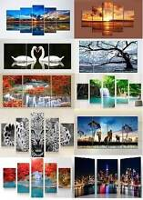 Modern Canvas Prints Wall Arts Paintings Home Decor - with frame Baldivis Rockingham Area Preview