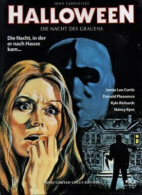 Halloween 1 | Uncut Mediabook | Limitiert auf 66 Stück DVD - Blu-ray Cover M - Halloween Blu Ray Media Book