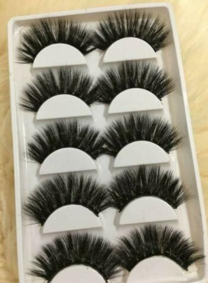 usa 6d glam mink false eyelashes long