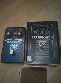 EBS Multicomp Dual-band Compression Pedal