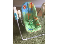 Fisher Price Musical Rain forest Swing Chair