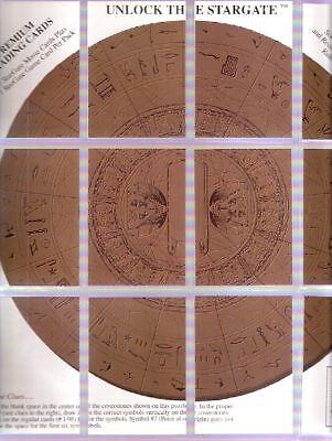 Tradingcards - Stargate - Movie  - 12x Sondercards - Unlock the Stargate v. 1994