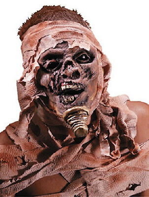 Mummy Dress Up (Mummy Undead Egyptian Fancy Dress Up Halloween Costume Makeup Latex)